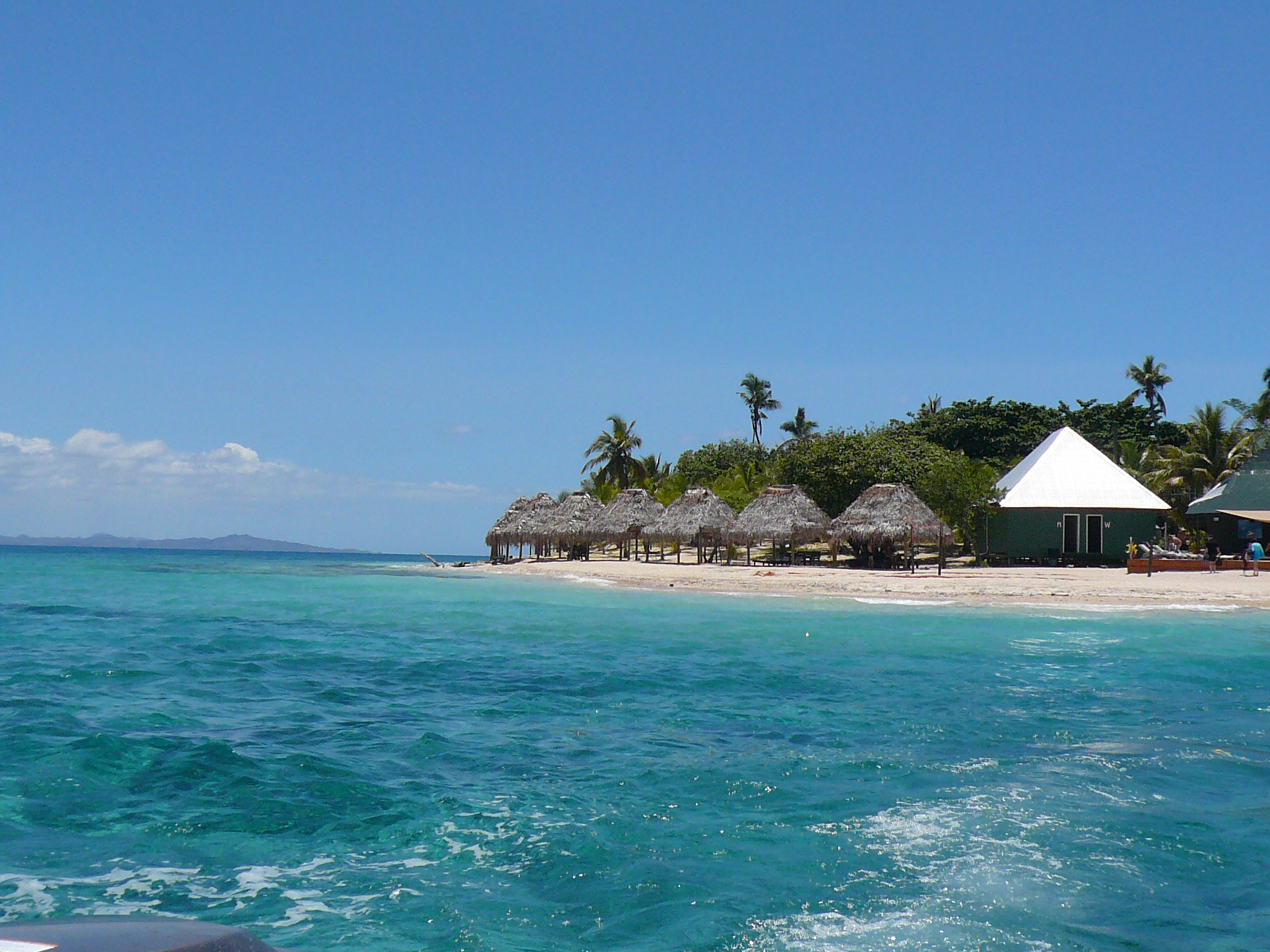 our beachfront bure on bounty island, fiji. - The Tale of