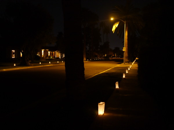willo historic district luminaries