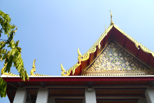 a day in bangkok, thailand