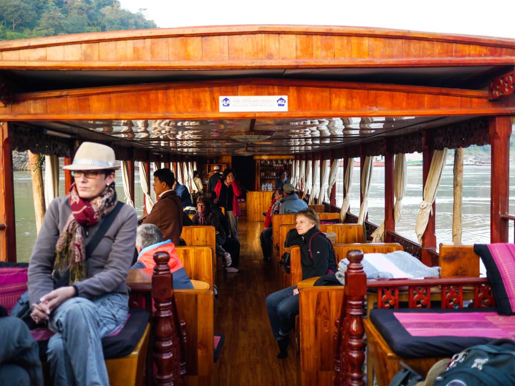 shompoo cruise mekong river