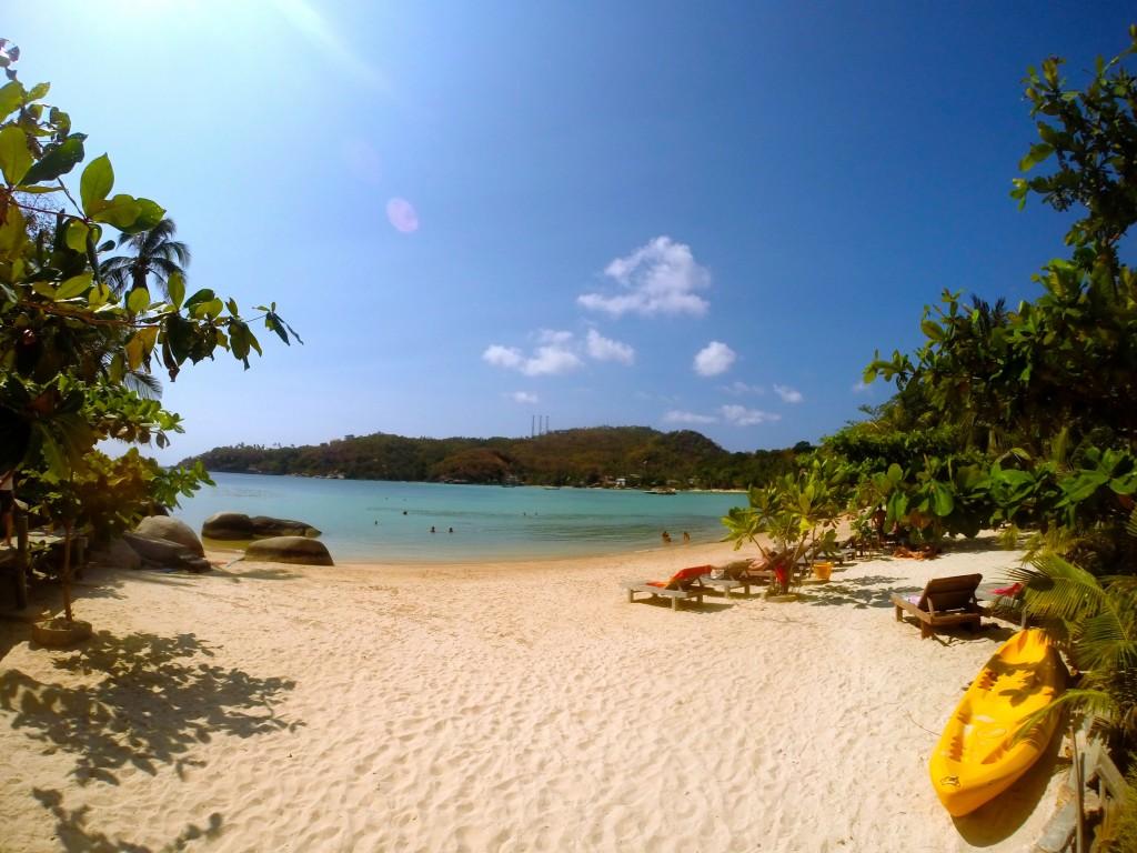 freedom beach koh tao thailand