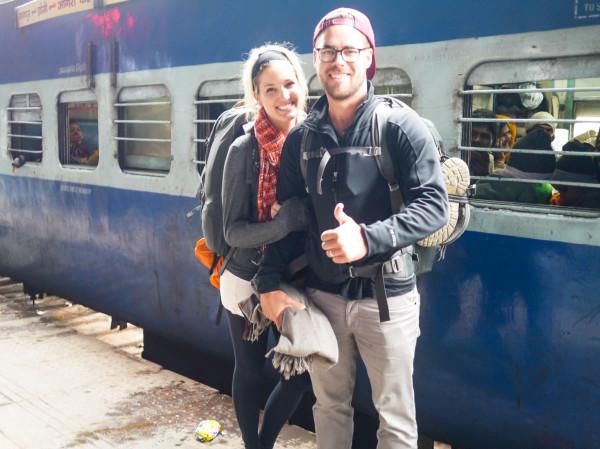 train ride in india