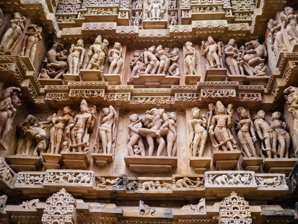 getting it on in khajuraho, india. kama sutra style.  The Tale of Two