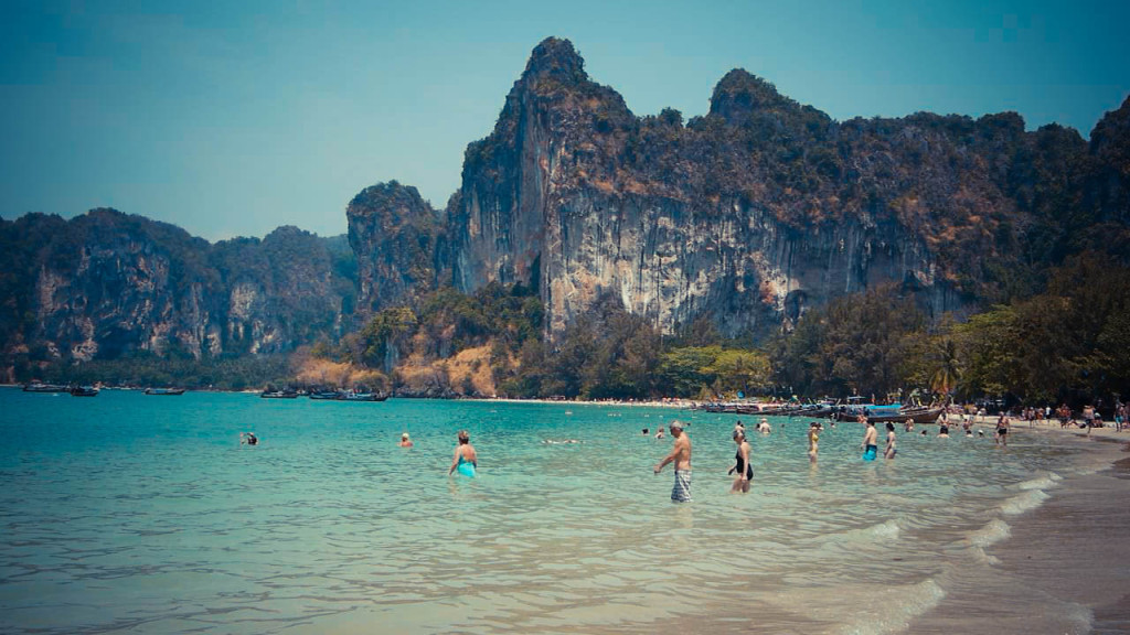railay east west thailand
