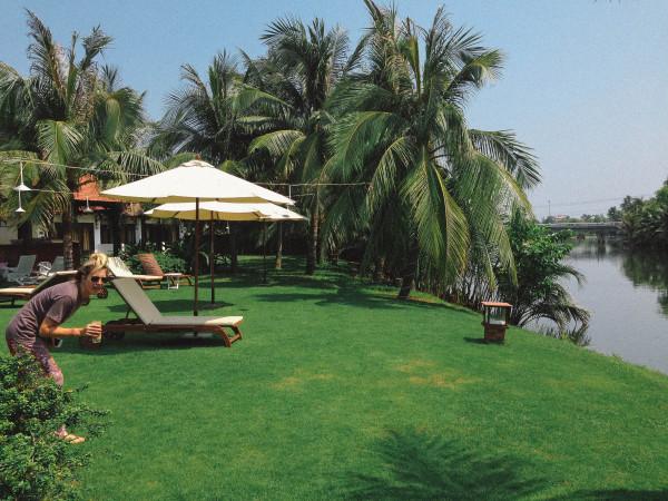 riverside bamboo resort hoi an, vietnam