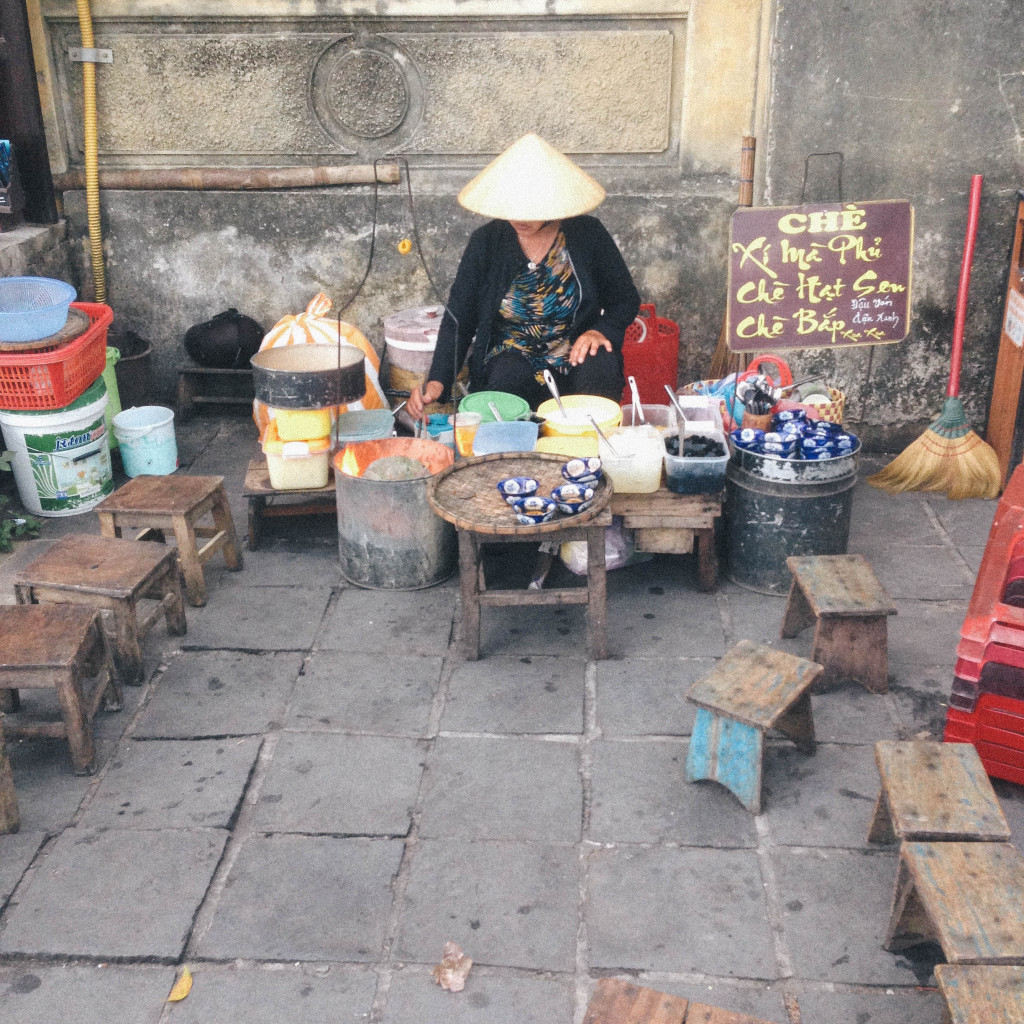 stool seating in vietnam