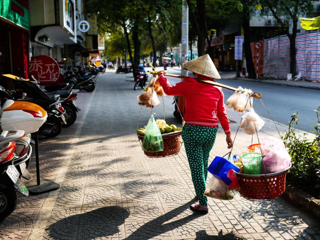 travel in ho chi minh city, vietnam
