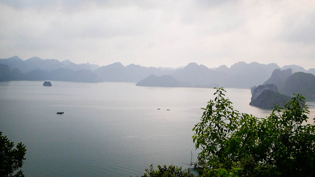halong bay vietnam galaxy premium