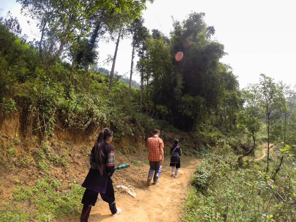 hmong village trek sapa, vietnam