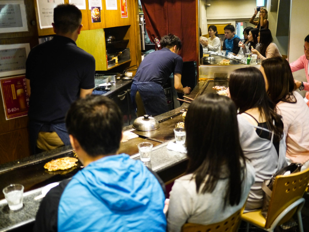 where to get okonomiyaki in osaka