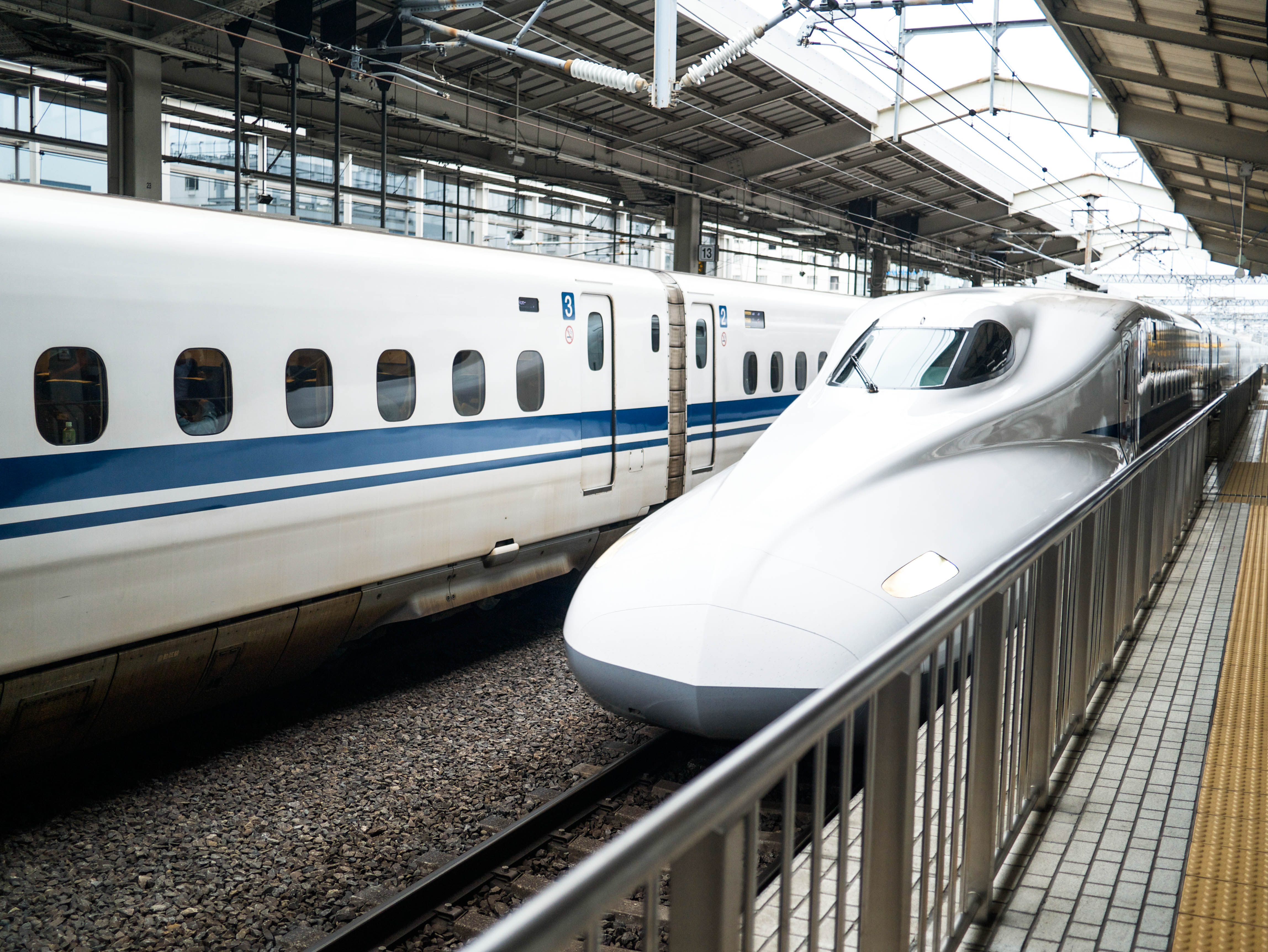 taking a ride on one of the world's fastest bullet trains ...