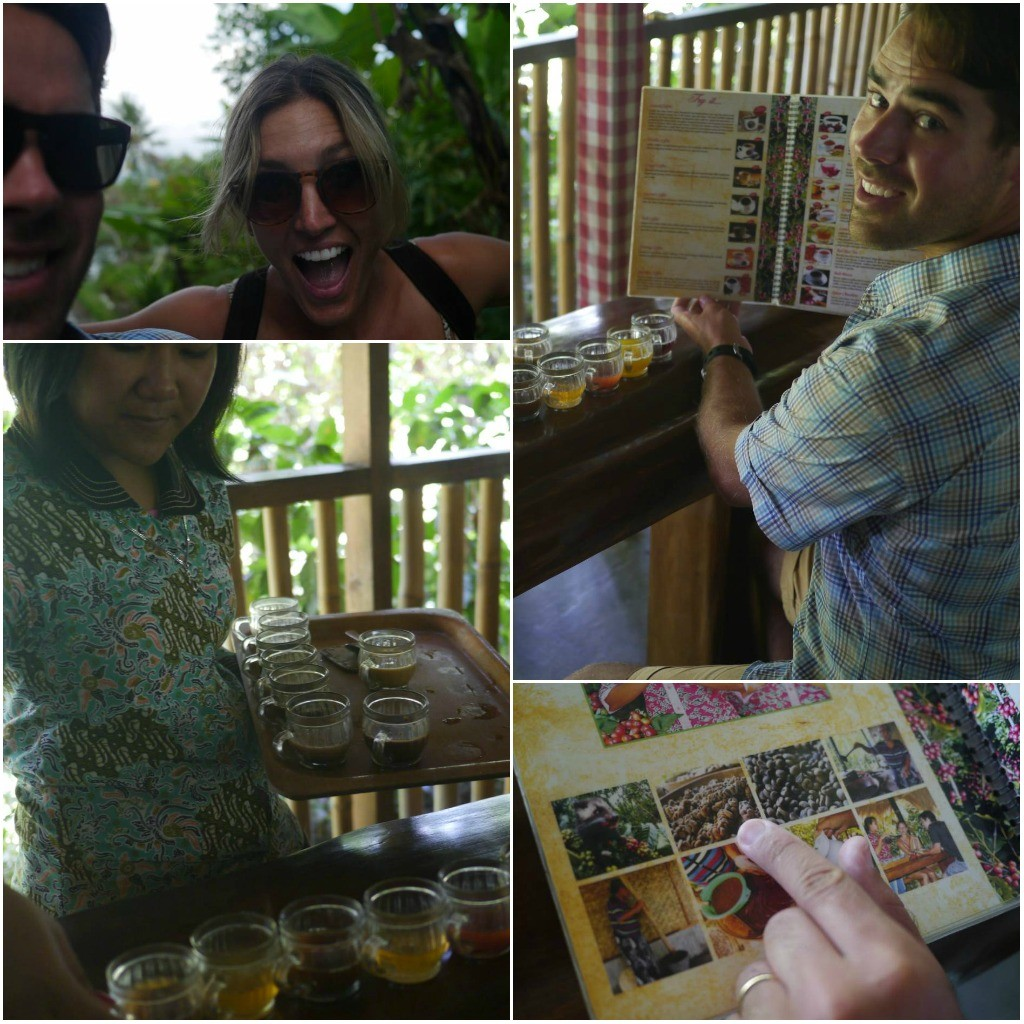 ubud coffee tasting