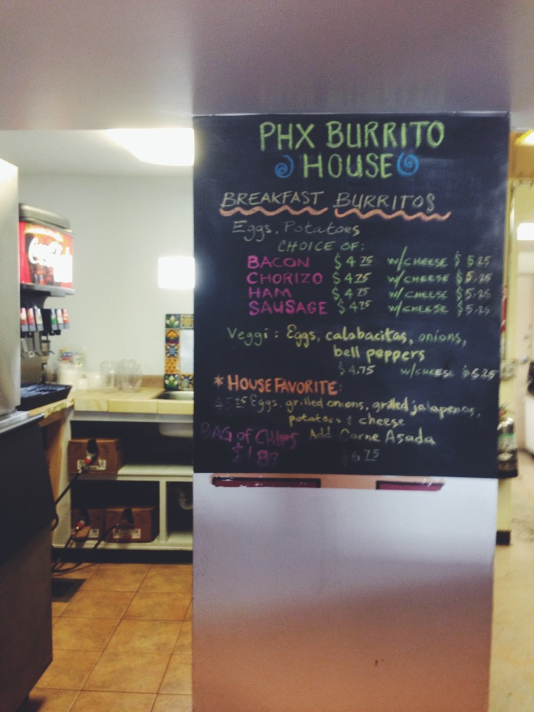 phx burrito house arizona