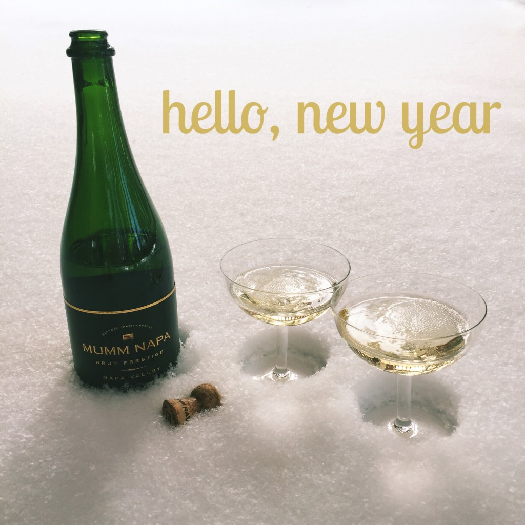 new year 2015 champagne