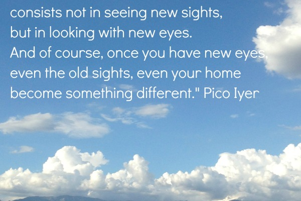pico iyer quote about travel