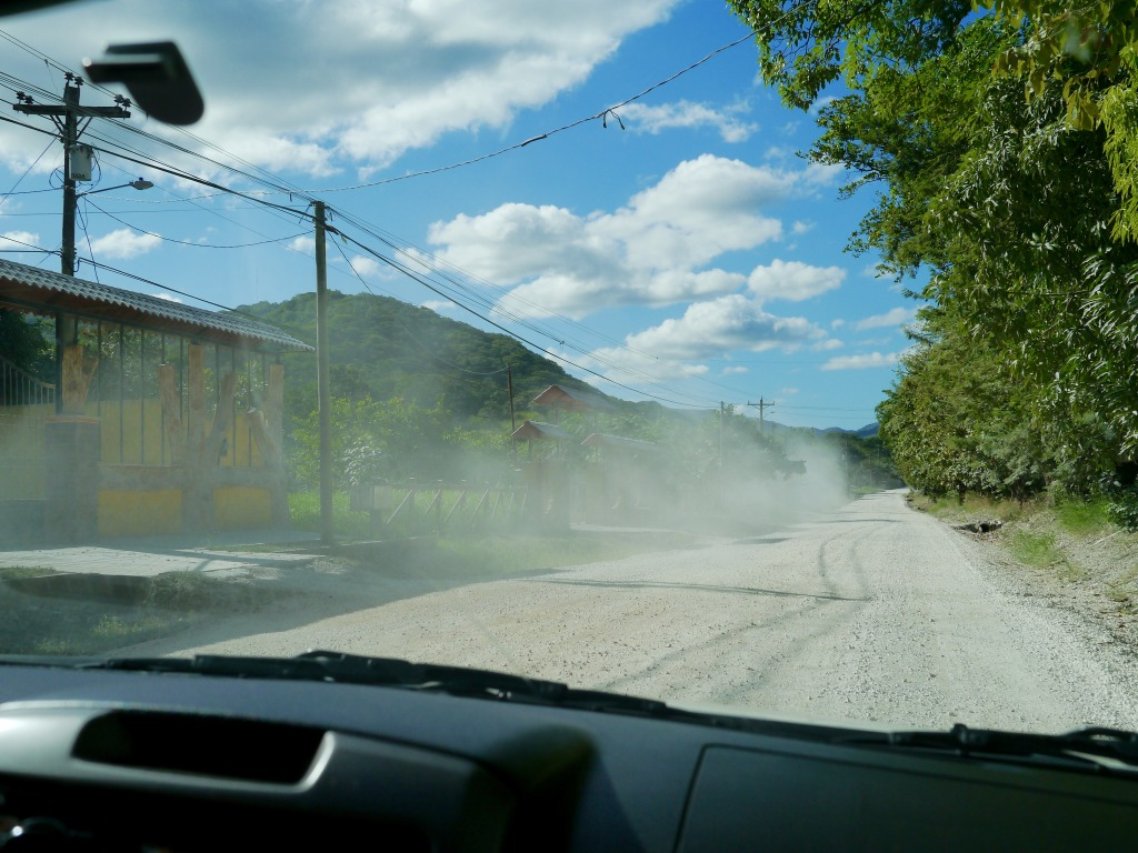 drive from manuel antonio to nosara