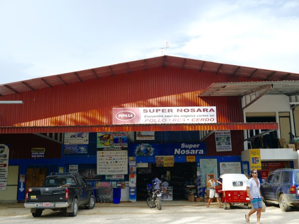 grocery store in nosara
