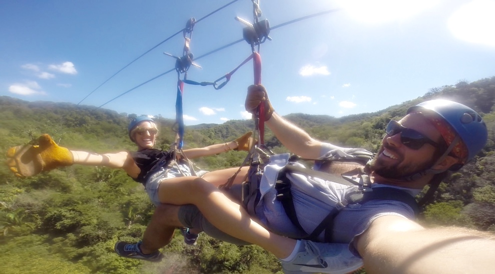 where to zip line in costa rica