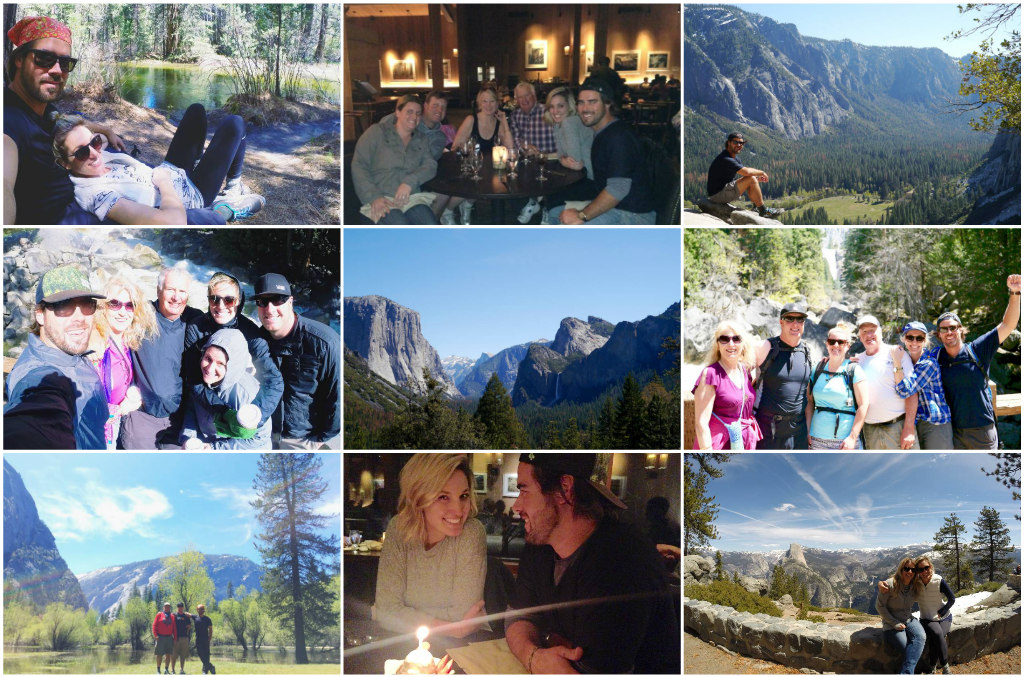 yosemite family vacation